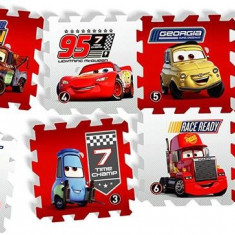 Covor Puzzle Din Spuma Cars 3 Race Of A Lifetime 8 Piese, Knorrtoys