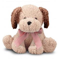 Catel Din Plus Cu Fundita Golden Puppy Melissa And Doug Melissa & Doug