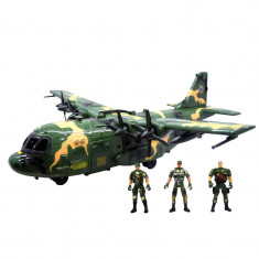 Set avion si soldati Military Series, 3 ani+ - Avion de jucarie