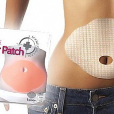 Set 10 Plasturi de slabit pentru zona abdominala cu extracte din plante - Dieta
