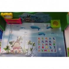 Birou Educativ pentru copii culore Verde - Masuta/scaun copii