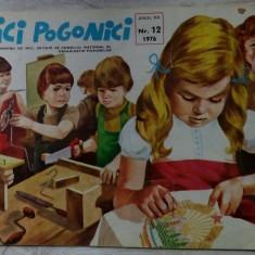 REVISTA ARICI POGONICI NR. 12/1976:Al.Andritoiu/P.Luscalov/Straut/Clelia Ottone+ - Revista scolara