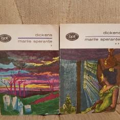 MARILE SPERANTE-CHARLES DICKENS (2 VOL) - Roman