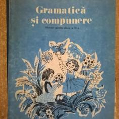Gramatica si compunere Manual pentru clasa a III-a {1992} - Manual scolar