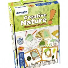 Set Pentru Creatie Natura - Miniland - Jocuri arta si creatie