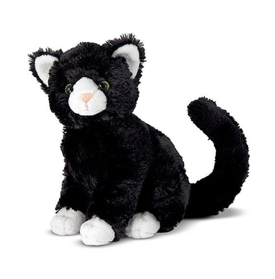 Pisica Din Plus Midnight Cat Melissa And Doug foto mare