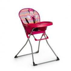 Scaun Masa Mac Baby Minnie Geo Pink Hauck