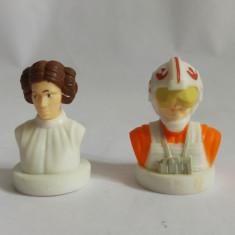 (T) 2 figurine stampile Star Wars, Razboiul stelelor, colectie - Figurina Desene animate