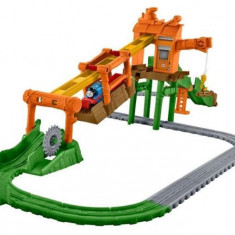 Set Jucarii Thomas Adventures Misty Island Zip Line Playset - Trenulet Thomas and Friends