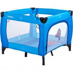 Tarc de joaca pentru copii Caretero Quadra Albastru
