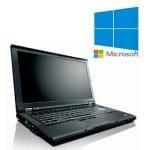 Laptop refurbished Lenovo ThinkPad T410 i5 520M 2.4GHz/4GB/160GB/Windows 10 Home, Intel Core i5, 160 GB, 14
