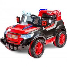 Vehicul Electric Patrol 2 x 6V cu Telecomanda Red - Masinuta electrica copii