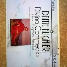Dante Alighieri - Divina Commedia {Lb. italiana} - Carte in italiana
