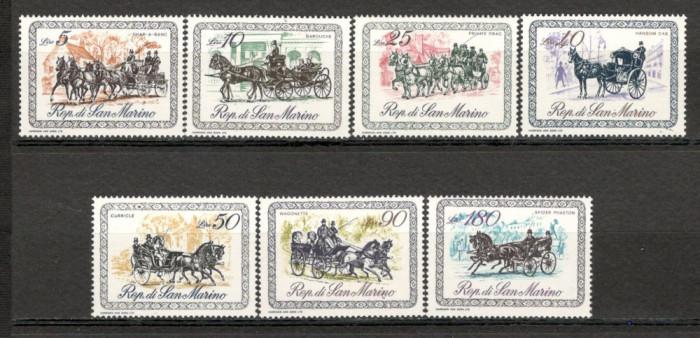 San Marino. 1969 Trasuri  KS.204 foto mare