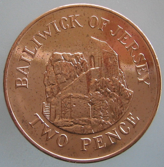 JERSEY KM#NEW - 2 Pence 2016 UNC foto mare