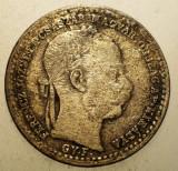 A.005 UNGARIA TRANSILVANIA FERENCZ JOZSEF 10 KRAJCZAR 1868 GYF ALBA IULIA, Europa, Argint