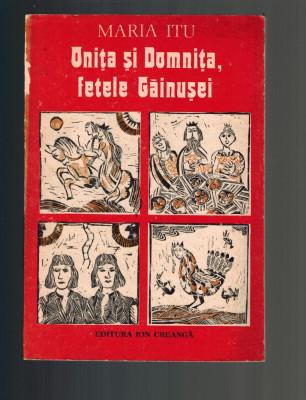 Maria Itu - Onita si Domnita, fetele gainusei, ilustratii Clarette Wechtel foto