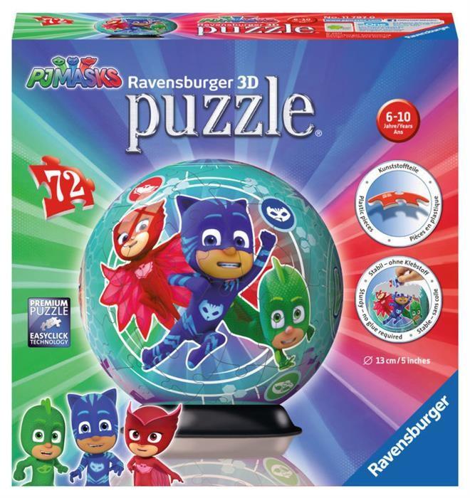 Puzzle 3D Eroi In Pijamale Motiv 2 foto mare