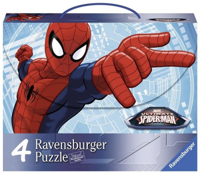 Puzzle Spiderman, 2X64, 2X81 Piese foto