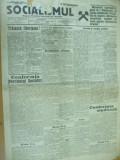 Socialismul 17 ianuarie 1928 conferinta partidului Ghelerter Voitec Popovici
