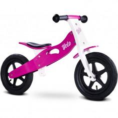 Bicicleta de lemn fara pedale Toyz Velo Mov - Bicicleta copii