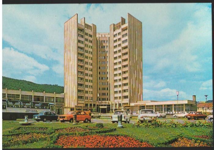 CPI (B9100) CARTE POSTALA - PIATRA NEAMT. HOTEL CENTRAL foto mare