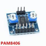 Modul PAM8406 / Mini amplificator audio stereo 2 x 5W