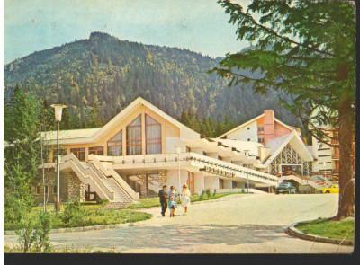 "CPI (B9072) CARTE POSTALA - POIANA BRASOV. HOTELUl ""TELEFERIC"" foto"