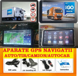 "GPS Auto Navigatie GPS ecran 7"" GPS TIR GPS CAMION GPS HARTI FULL EUROPA 2018, Toata Europa, Lifetime"