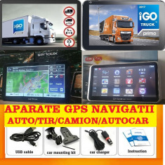 "GPS Auto Navigatie GPS ecran 7"" GPS TIR GPS CAMION GPS HARTI FULL EUROPA 2018"