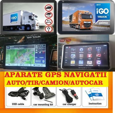 "GPS Auto Navigatie GPS ecran 7"" GPS TIR GPS CAMION GPS HARTI FULL EUROPA 2018 foto"
