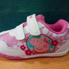 Peppa Pig -adidas pentru fetite marimi 21.5, 23 24 25, 5 27 - Adidasi copii, Culoare: Alb, Fete