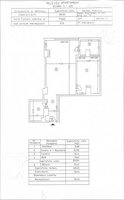 Apartament 2 camere, Ilioara, 65 mp, 2008 foto mare