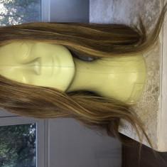 Peruca par natural ombre 70cm - Peruca Dama