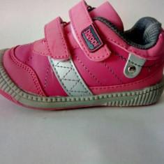 Pantof sport roz cu varfdin cauciuc, marimi 22, 23, 24, 25 - Adidasi copii, Fete