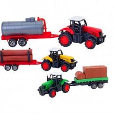 Tractor Cu Remorca 20 Cm Globo Spidko - Masinuta electrica copii