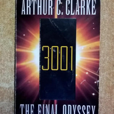 Arthur C. Clarke – 3001 The Final Odyssey - Carte in engleza