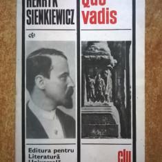 Henryk Sienkiewicz – Quo Vadis - Roman