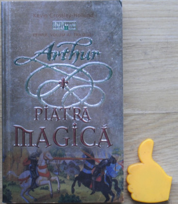 Arthur Piatra magica Kevin Crossley-Holland foto
