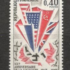 Franta.1965 20 ani Victoria SF.111 - Timbre straine, Nestampilat