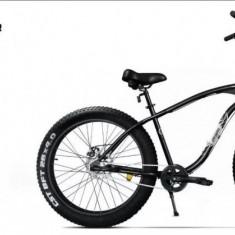 Bicicleta fat bike pegas - Bicicleta de oras Nespecificat, 17 inch, 26 inch, Numar viteze: 3