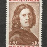 Franta.1965 300 ani moarte N.Poussin-Pictura SF.107 - Timbre straine, Nestampilat