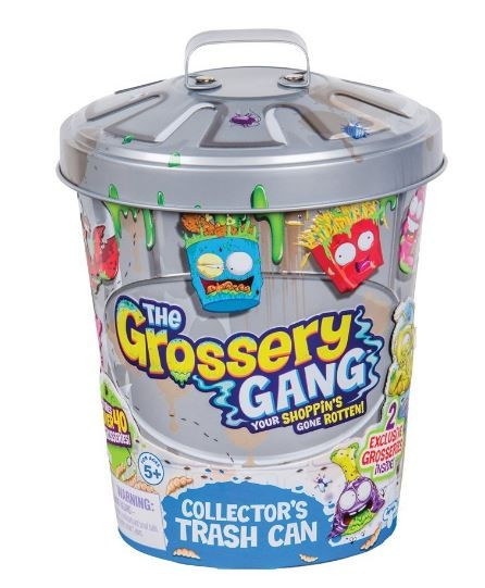 Jucarie Grossery Gang Metallic Collectors Bin foto mare