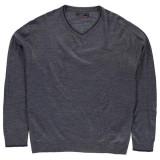 Bluza Pulover Barbati Pierre Cardin V Neck - original marimea 5XL -  XXXXXL, Anchior, Indigo, Pierre Cardin
