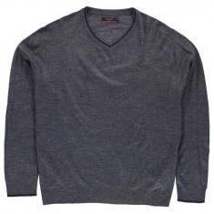 Bluza Pulover Barbati Pierre Cardin V Neck - original marimea 5XL - XXXXXL, Culoare: Indigo, Anchior