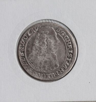 15 kreuzer 1664 -argint foto
