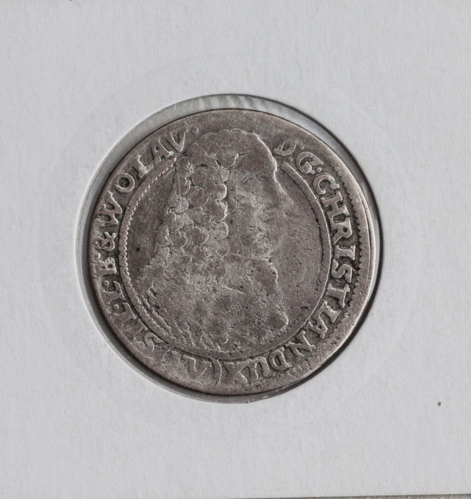 15 kreuzer 1664 -argint foto mare