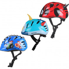 MV7 Casca ciclism pentru copii albastru deschis S - Echipament Ciclism