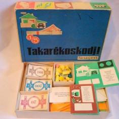 Joc vintage anii 1980s Takarekoskodj! Tarsasjatek joc familie unguresc (Ungaria)