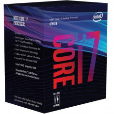 Procesor Intel Core i7-8700K Hexa Core 3.7 GHz Socket 1151 BOX - Procesor PC